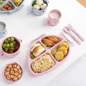 Детская ЭКО посуда Wheat Plane Plate
