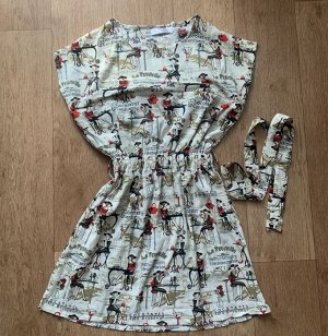 Платье с потайным отделением для кормления