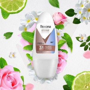 Rexona Clinical Protection антиперспирант-дезодорант шариковый Защита и Свежесть 50 мл