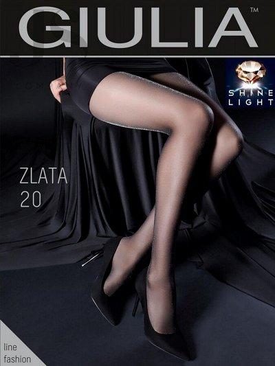 Колготки GIULIA 41 — Колготки Giulia - люрекс, люрекс с хлопком — Колготки