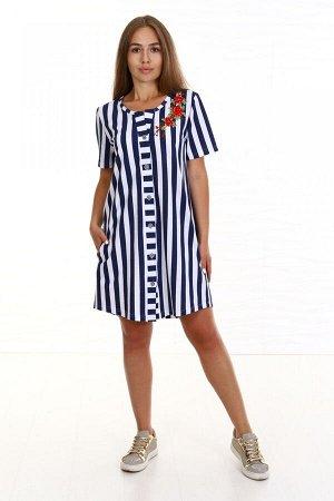 №383 Платье - рубашка