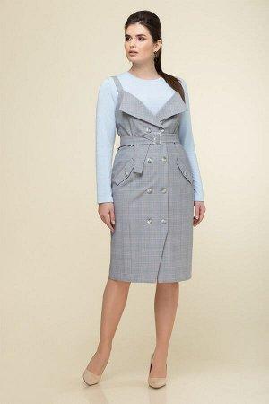 Комплект сарафан и блузка