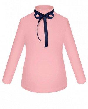 Школьная розовая блузка для девочки Цвет: розовый