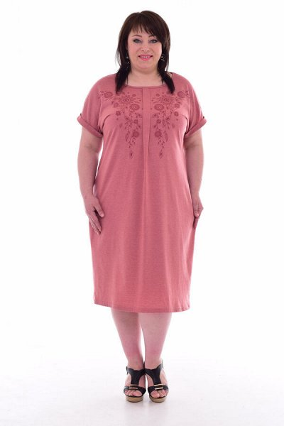 Новое Кимоно - Трикотаж для всей семьи-9 — Женский трикотаж. Платья — Повседневные платья