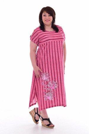 Платье женское 4-70а (розовый)