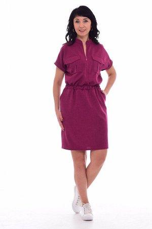 *Платье женское Ф-1-57а (малина)