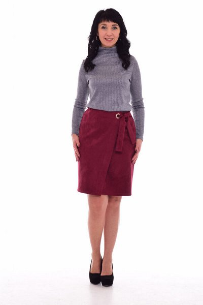 Новое Кимоно - Трикотаж для всей семьи-9 — Женский трикотаж. Юбки — Прямые юбки