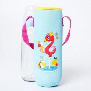 """Термосумка для бутылочки """"Фламинго"""""""