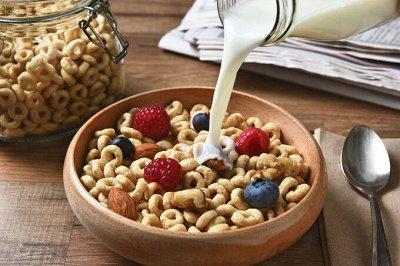 Самые вкусные продукты здесь! — Сухие завтраки, мюсли, хлопья, каши, клетчатка — Каши, хлопья и сухие завтраки