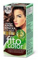 """Стойкая крем-краска для волос """"Fitocolor"""" тон 4.36 Мокко 115 мл"""