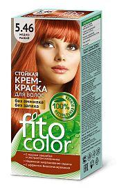 """Краска-крем д/волос """"Fitocolor"""" стойкая т.5.46 Медно-Рыжий 115 мл арт.4840 /20/"""