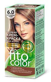"""Краска-крем д/волос """"Fitocolor"""" стойкая т.6.0  Натур.-Русый 115 мл арт.4829 /20/"""