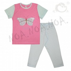 Пижама для девочек арт 10767-3