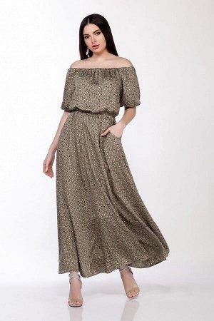 Платье LaKona Артикул: 1307 хаки