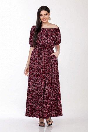 Платье LaKona Артикул: 1307 вишня