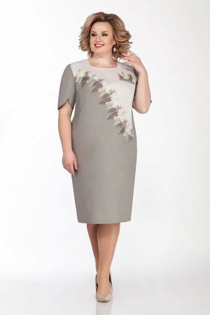 Платье LaKona Артикул: 1292 темно-бежевый