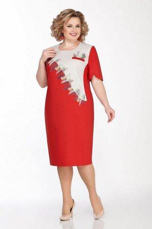 Платье LaKona Артикул: 1292 терракот