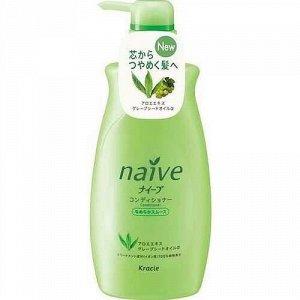 """""""Naive"""" Бальзам-ополаскиватель для нормальных волос восстанавливающий """"Naive"""", 550 мл"""