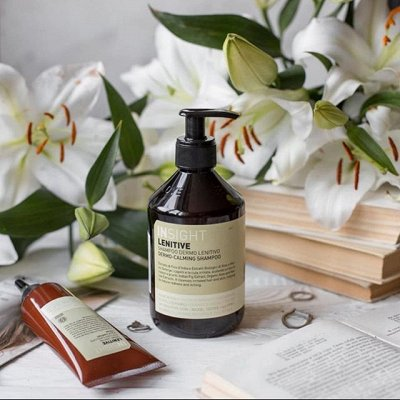 ☘INSIGHT ☘Профессиональная биокосметика для волос из Италии  — УХОД Для гиперчувствительной кожи головы LENITIVE — Шампуни