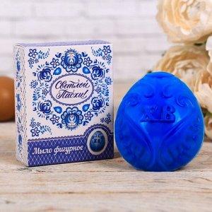 Пасхальное мыло в форме яйца «Светлой Пасхи!»