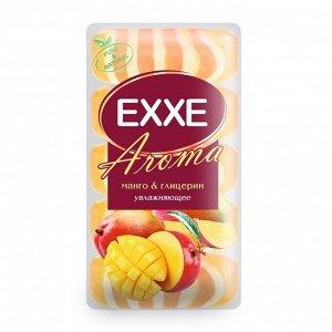 """Крем+мыло Exxe Aroma глицериновое """"Манго & глицерин"""" оранжевое полосатое, 5 шт*70 г"""