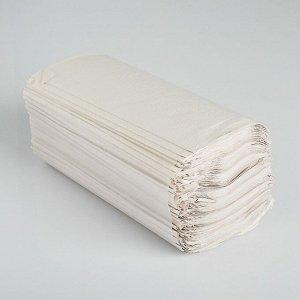 Полотенца V - сложения светло-серые 35 гр.м2, 250 л, 23*20