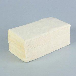 Полотенца бумажные V-сложения, 25 г/м?, 2-х слойные, 200 листов