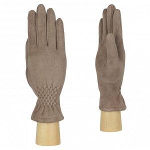 Перчатки женские, искусственная замша, FABRETTI TH22-10
