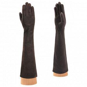 Перчатки, замша/шерсть, Fabretti 23.1-2 brown