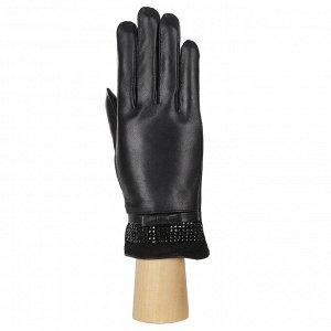 Перчатки, кожа, FABRETTI 15.18-1 black