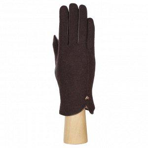 Перчатки, комбинированная кожа, Fabretti 33.8-2 brown
