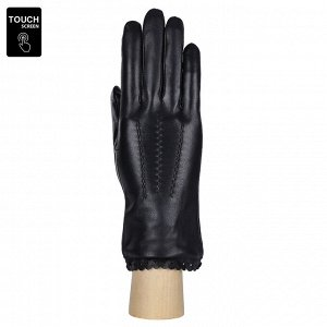 Перчатки, натуральная кожа, Fabretti S1.11-1 black