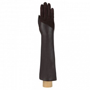 Перчатки, натуральная кожа, Fabretti 12.95-2 chocolat