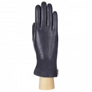 Перчатки, кожа, FABRETTI 12.71-12 blue