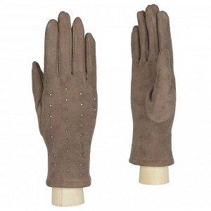 Перчатки женские, искусственная замша, Fabretti TH41-10