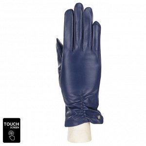Перчатки, натуральная кожа, Fabretti S1.7-12s blue