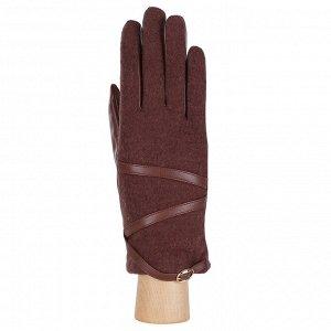 Перчатки, комбинированная кожа, Fabretti FS1-3 l.brown