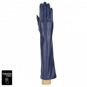 Перчатки, натуральная кожа, Fabretti S1.10-12s blue