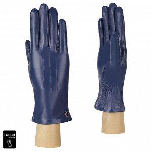 Перчатки, натуральная кожа, Fabretti S1.41-11s blue