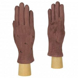 Перчатки женские, искусственная замша, Fabretti TH3-2
