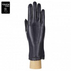 Перчатки, натуральная кожа, Fabretti S1.11-12 blue