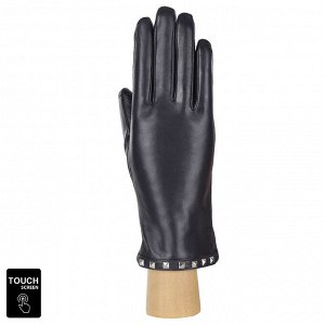Перчатки, натуральная кожа, Fabretti S1.40-12 blue