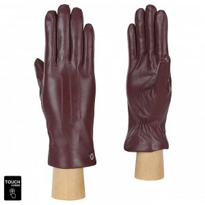 Перчатки, натуральная кожа, Fabretti S1.41-8 bordo