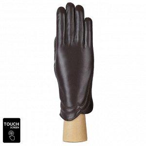 Перчатки, натуральная кожа, Fabretti S1.39-2 brown