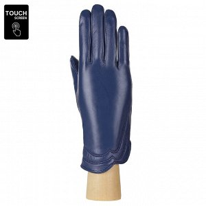 Перчатки, натуральная кожа, Fabretti S1.39-12s blue