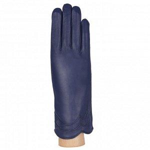 Перчатки, натуральная кожа, Fabretti S1.39-12 blue