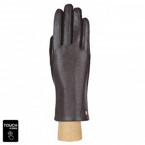 Перчатки, комбинированная кожа, Fabretti 3.12-2 brown