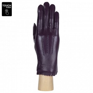 Перчатки, натуральная кожа, Fabretti S1.11-8 amethyst