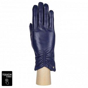 Перчатки, натуральная кожа, Fabretti S1.7-11 blue