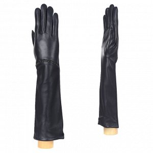 Перчатки, кожа, FABRETTI 15.17-12 navy